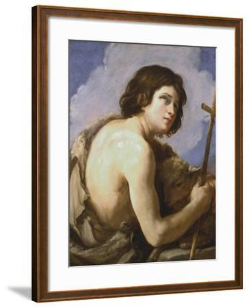 St John the Baptist, C1595-1642-Guido Reni-Framed Giclee Print
