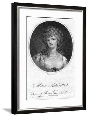 Marie Antoinette, Queen Consort of Louis XVI of France- Hopwood-Framed Giclee Print