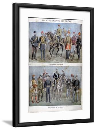 Uniforms of the Greek and Turkish Armies, 1897 Giclee Print by Henri Meyer  | Art com