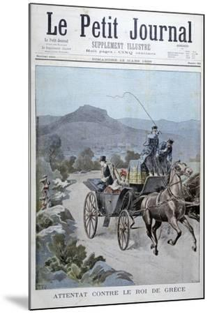 Attempted Attack on the King of Greece, 1898-Henri Meyer-Mounted Giclee Print