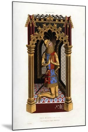 The Black Prince, C1355-Henry Shaw-Mounted Giclee Print