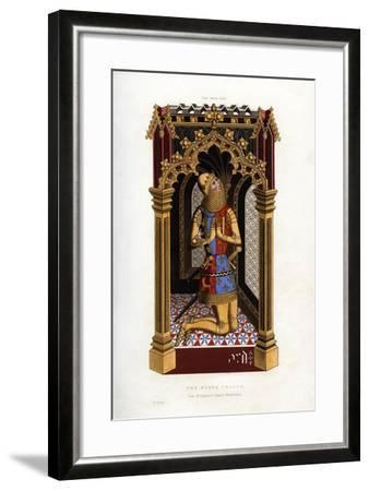 The Black Prince, C1355-Henry Shaw-Framed Giclee Print