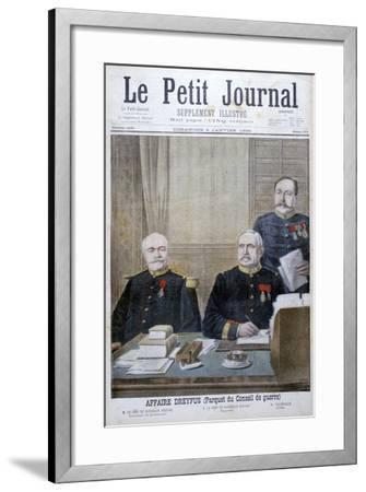 The Dreyfus Affair, 1898-Henri Meyer-Framed Giclee Print