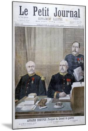 The Dreyfus Affair, 1898-Henri Meyer-Mounted Giclee Print