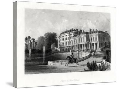 Palace of Saint-Cloud, Paris, France, 1875-Henry Adlard-Stretched Canvas Print
