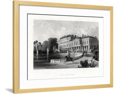 Palace of Saint-Cloud, Paris, France, 1875-Henry Adlard-Framed Giclee Print
