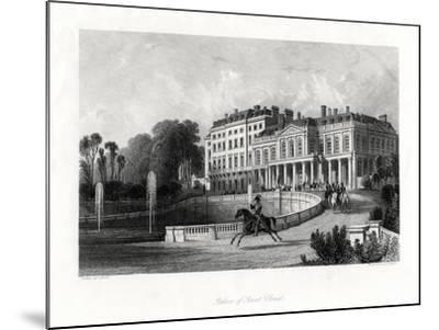 Palace of Saint-Cloud, Paris, France, 1875-Henry Adlard-Mounted Giclee Print