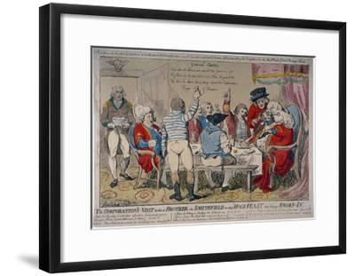 Corporation of Windsor, 1790-Isaac Cruikshank-Framed Giclee Print