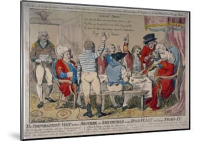 Corporation of Windsor, 1790-Isaac Cruikshank-Mounted Giclee Print