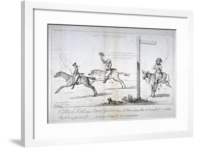 Westminster Races..., 1784-Isaac Cruikshank-Framed Giclee Print