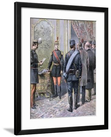 Coup D'Etat in Serbia, 1893-Henri Meyer-Framed Giclee Print