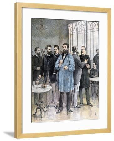 The Refreshment Bar, Chamber of Deputies of France, Paris, 1892-Henri Meyer-Framed Giclee Print