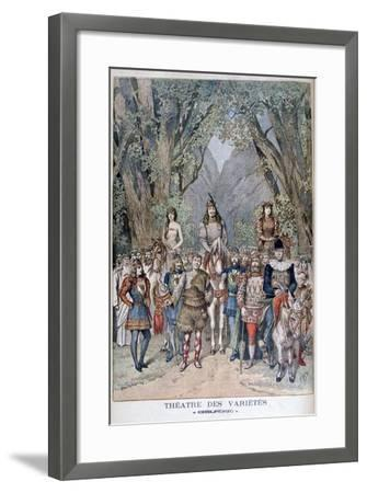 Chilperic, Theatre of Varieties, 1895-Henri Meyer-Framed Giclee Print