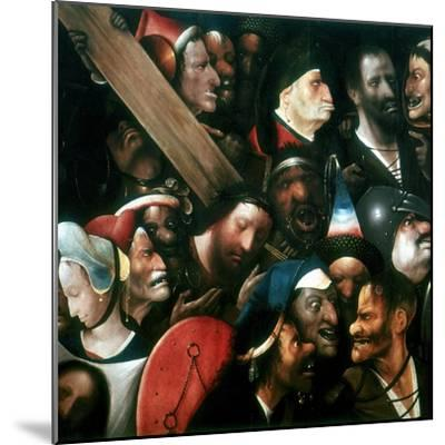Carrying the Cross, C1480-1516-Hieronymus Bosch-Mounted Giclee Print