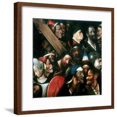 Carrying the Cross, C1480-1516-Hieronymus Bosch-Framed Giclee Print