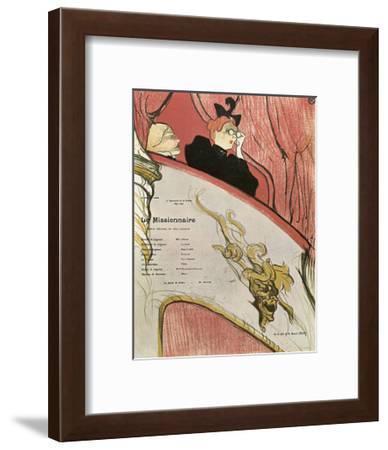 Le Missionaire, 1894-Henri de Toulouse-Lautrec-Framed Giclee Print
