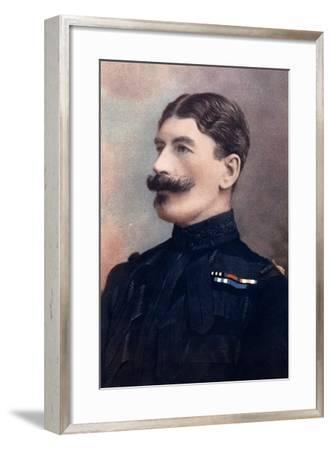 Major-General John Brabazon, Commanding Imperial Yeomanry, South Africa, 1902-HW Barnett-Framed Giclee Print