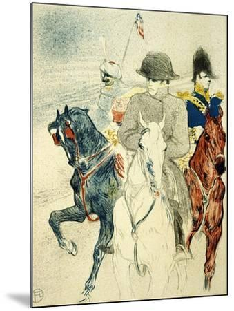 The History of Napoleon I' (Rejected Design of a Poster to the Boo), 1895-Henri de Toulouse-Lautrec-Mounted Giclee Print