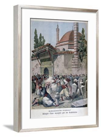 An Attack on a Mosque by Armenians, 1895-Henri Meyer-Framed Giclee Print