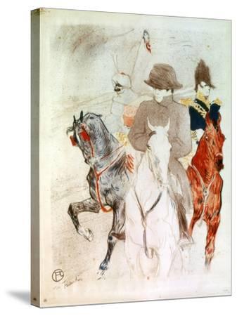 Napoleon, C1895-Henri de Toulouse-Lautrec-Stretched Canvas Print