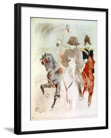Napoleon, C1895-Henri de Toulouse-Lautrec-Framed Giclee Print
