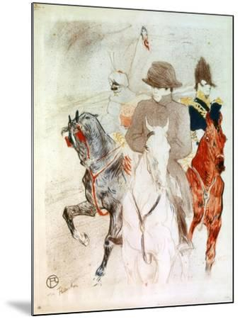 Napoleon, C1895-Henri de Toulouse-Lautrec-Mounted Giclee Print