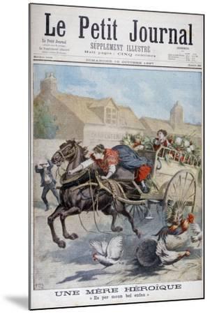 An Heroic Mother, 1897-Henri Meyer-Mounted Giclee Print