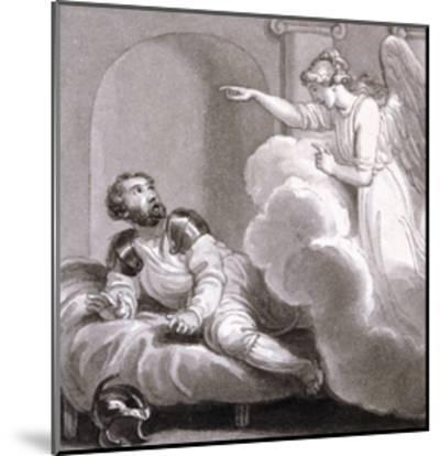 Angel Appearing to Cornelius, C1810-C1844-Henry Corbould-Mounted Giclee Print
