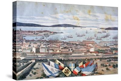 The Port of Toulon, 1893-Henri Meyer-Stretched Canvas Print