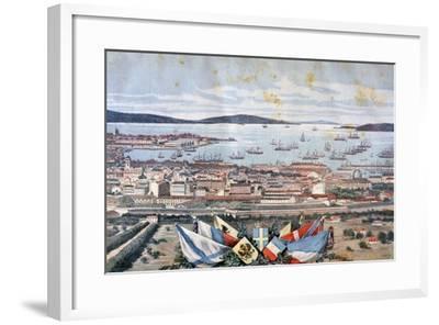 The Port of Toulon, 1893-Henri Meyer-Framed Giclee Print