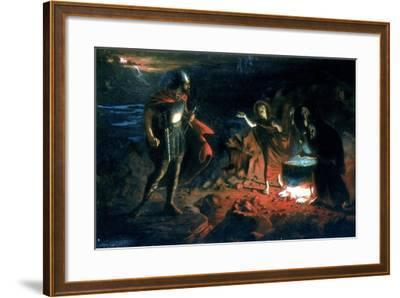 Macbeth and the Witches, Late 19th Century-Henry Daniel Chadwick-Framed Giclee Print