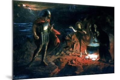 Macbeth and the Witches, Late 19th Century-Henry Daniel Chadwick-Mounted Giclee Print