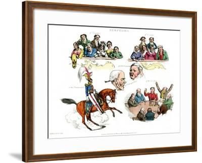 Symptoms of Being Amused, 1822-Henry Thomas Alken-Framed Giclee Print