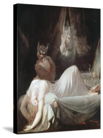 The Nightmare, C1790-Henry Fuseli-Stretched Canvas Print