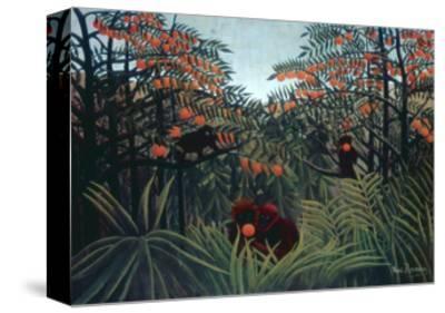The Tropics, 1910-Henri Rousseau-Stretched Canvas Print