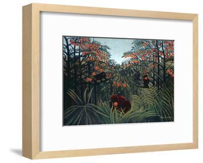 The Tropics, 1910-Henri Rousseau-Framed Giclee Print