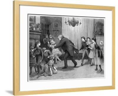 A Romp after Dinner, 1887-Henry Towneley Green-Framed Giclee Print