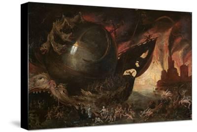 La Traversée Du Styx, C1591-1638-Jacob Isaacz van Swanenburg-Stretched Canvas Print