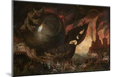 La Traversée Du Styx, C1591-1638-Jacob Isaacz van Swanenburg-Mounted Giclee Print