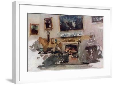 Moreby Hall, C1883-James Abbott McNeill Whistler-Framed Giclee Print