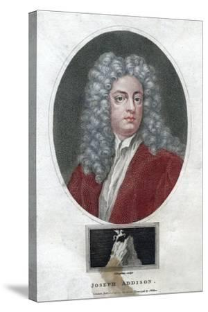 Joseph Addison, English Politician and Writer, 1796-J Chapman-Stretched Canvas Print
