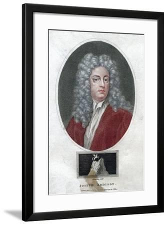 Joseph Addison, English Politician and Writer, 1796-J Chapman-Framed Giclee Print