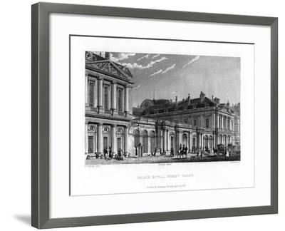 Palais Royal, Paris, France, 1829-J Hanshall-Framed Giclee Print