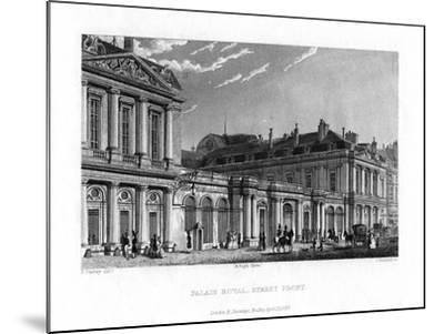 Palais Royal, Paris, France, 1829-J Hanshall-Mounted Giclee Print