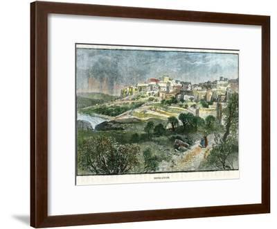 Bethlehem, Palestine, C1885-J Harmsworth-Framed Giclee Print