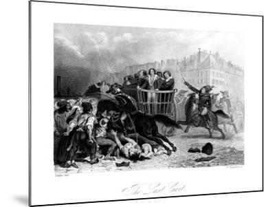 The Last Cart, 1845-J Somerville-Mounted Giclee Print