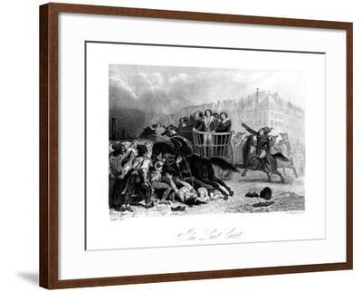 The Last Cart, 1845-J Somerville-Framed Giclee Print