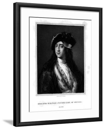 Horace Walpole, 4th Earl of Orford, Politician, Writer, Architectural Innovator-J Cochran-Framed Giclee Print