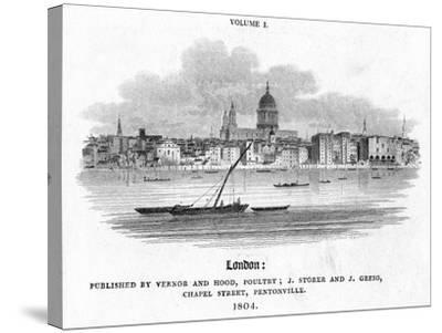 London, 1804-J Storer-Stretched Canvas Print