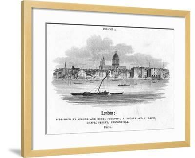 London, 1804-J Storer-Framed Giclee Print